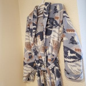 Vintage Vervace Winter Themed House Robe